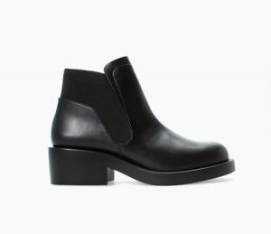 Bottines Zara noires