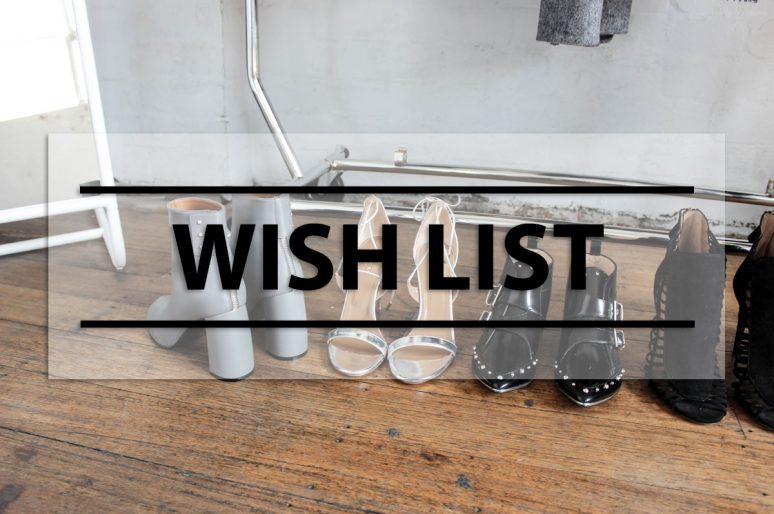 Wish List : codes et sélection